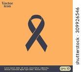 vector breast cancer ribbon | Shutterstock .eps vector #309926546