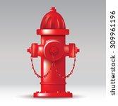 Red Fireplug On The Street....