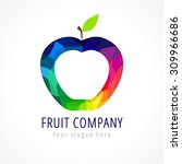 fruit company vector logo....