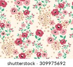 abstract elegance seamless... | Shutterstock .eps vector #309975692