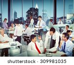 group of business people... | Shutterstock . vector #309981035