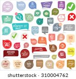 modern badges collection | Shutterstock .eps vector #310004762