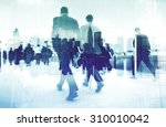 abstract image of business... | Shutterstock . vector #310010042