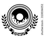 donuts shop digital design ...   Shutterstock .eps vector #310036052