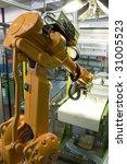 orange automatic robot   Shutterstock . vector #31005523