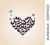 Heart Of Butterflies Valentine...