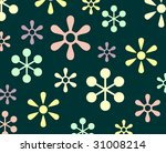 fresh texture with funny flower | Shutterstock . vector #31008214