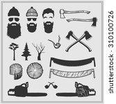 Lumberjack Characters With...