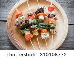 Grilled Vegetable Skewers On...