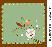 sweet nature background template | Shutterstock .eps vector #31018459