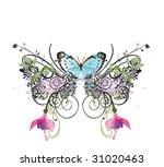illustration of a decorative... | Shutterstock .eps vector #31020463
