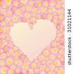 flower frame | Shutterstock .eps vector #31021144