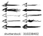 arrow | Shutterstock .eps vector #310238402