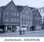 bergen  norway   july 24  2007  ... | Shutterstock . vector #310259108