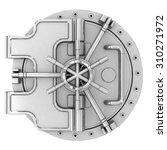 safe deposit vault | Shutterstock . vector #310271972