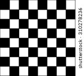 vector modern pattern checkered ... | Shutterstock .eps vector #310278236