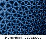 Blue Abstract Futuristic...