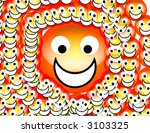 an image of a set of happy... | Shutterstock . vector #3103325