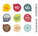 modern badges collection | Shutterstock .eps vector #310335815