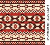 ethnic ornament. seamless... | Shutterstock .eps vector #310343345