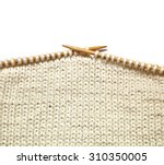 Two Bamboo Knitting Needles In...