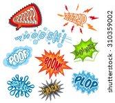 comic sounds humour... | Shutterstock . vector #310359002