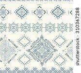 ethnic boho seamless pattern....   Shutterstock .eps vector #310367288