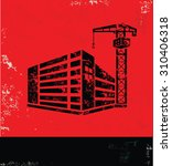 construction industry design on ...   Shutterstock .eps vector #310406318