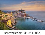 vernazza. image of vernazza ... | Shutterstock . vector #310411886