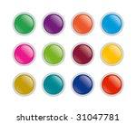 buttons | Shutterstock .eps vector #31047781