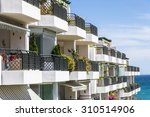 apartments on the seafront in... | Shutterstock . vector #310514906
