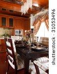 the luxury dining room interior | Shutterstock . vector #31053496