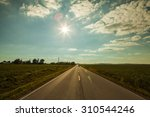 american country road | Shutterstock . vector #310544246
