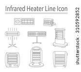 set of trendy line icons for... | Shutterstock .eps vector #310592852