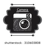 old style photograph design ... | Shutterstock .eps vector #310603808