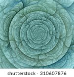 Abstract Whirlpool Fractal Ove...