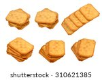 showing isolated six shots of...   Shutterstock . vector #310621385