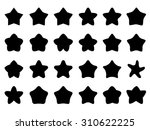 cute star icons | Shutterstock .eps vector #310622225