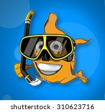 fun fish | Shutterstock . vector #310623716