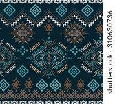 ethno seamless pattern. ethnic...   Shutterstock .eps vector #310630736