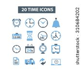 time  clocks icons