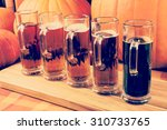 Oktoberfest Craft Beer Flight