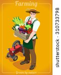 department store ad grocery... | Shutterstock .eps vector #310733798
