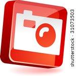 photo 3d icon. vector... | Shutterstock .eps vector #31073503