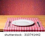 plate. | Shutterstock . vector #310741442