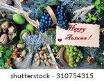 happy autumn | Shutterstock . vector #310754315