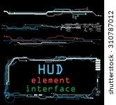 abstract future  concept vector ... | Shutterstock .eps vector #310787012