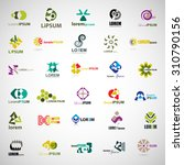 unusual icons set   isolated on ... | Shutterstock .eps vector #310790156