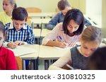 education  elementary school ... | Shutterstock . vector #310810325