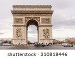 paris  france   december 21 ... | Shutterstock . vector #310818446